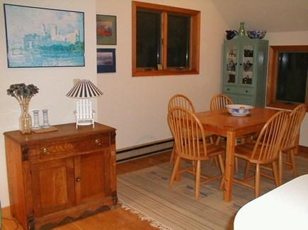 Wellfleet, Ocean side of Route 6 Cape Cod vacation rental - Dining Room