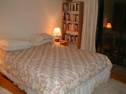 Wellfleet, Ocean side of Route 6 Cape Cod vacation rental - Master Bedroom with queen bed on the Main Floor