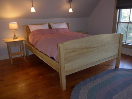 Eastham Cape Cod vacation rental - Upstairs bedroom.  New queen mattress. Air conditioning unit.