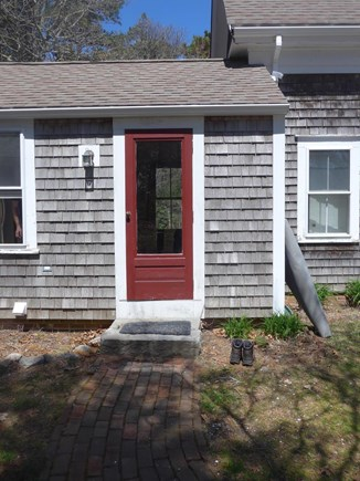 Eastham Cape Cod vacation rental - The side entrance - kick off your shoes inside the door!