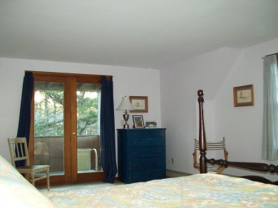 Chatham Cape Cod vacation rental - Large bedroom on 2nd floor with private deck