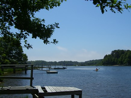 South Dennis Cape Cod vacation rental - Bass River across street for boating and fishing