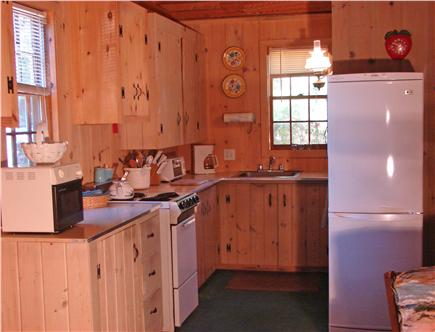 South Dennis Cape Cod vacation rental - Kitchen area
