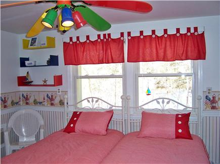 South Yarmouth Cape Cod vacation rental - Red Bedroom