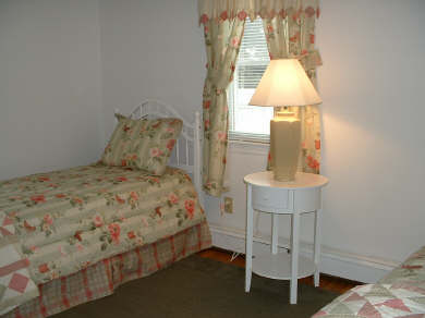 South Yarmouth Cape Cod vacation rental - Yellow and Green Bedroom