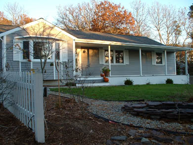 South Yarmouth Cape Cod vacation rental - Home offers lovely view of Lily Pond from many rooms