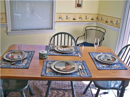 South Yarmouth Cape Cod vacation rental - Dining Room table offers seating for our guests