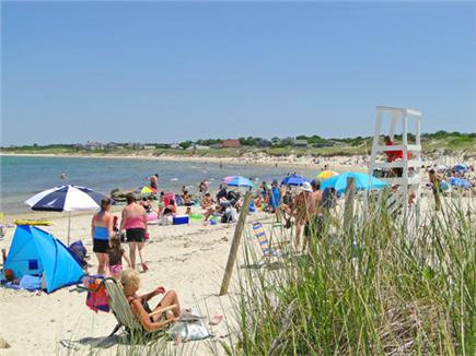 South Dennis Cape Cod vacation rental - Drive ten minutes to gorgeous Corporation or Mayflower Beach