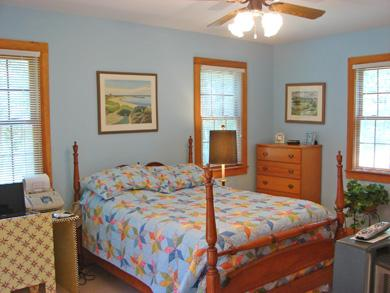South Dennis Cape Cod vacation rental - Master Bedroom with queen bed and private bath.