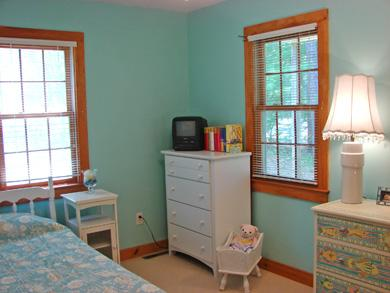 South Dennis Cape Cod vacation rental - Twin bedroom with built in bunk beds