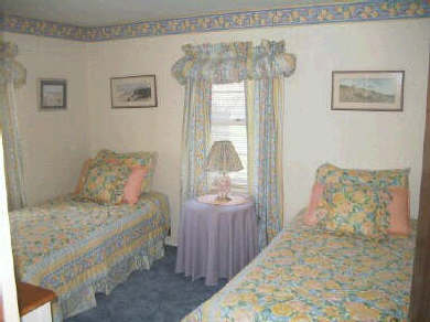 Falmouth Cape Cod vacation rental - Back Bedroom with 2 dressers, closet & Cable TV