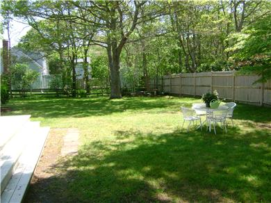 Falmouth Cape Cod vacation rental - Huge, Private & Safe Back Yard! Great for Kids & Yard Games!
