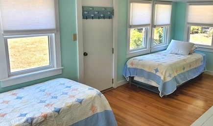East Orleans Cape Cod vacation rental - Bedroom 2: two twins with trundle beds underneath, sleeps 4.