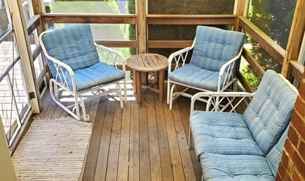 East Orleans Cape Cod vacation rental - Screened porch