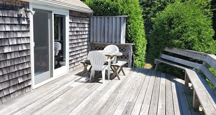 East Orleans Cape Cod vacation rental - Large sunny deck