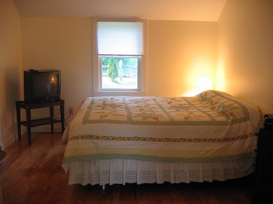 East Orleans Cape Cod vacation rental - Master bedroom with cable TV