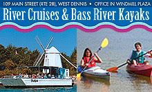 Bass River Kayaks, Cruises & Paddle Boards