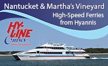 Hy Line Ferry to Nantucket and the Vineyard