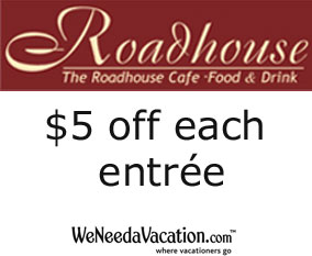 Coupon for The Roadhouse Cafe