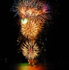 Yarmouth Seaside Festival Fireworks