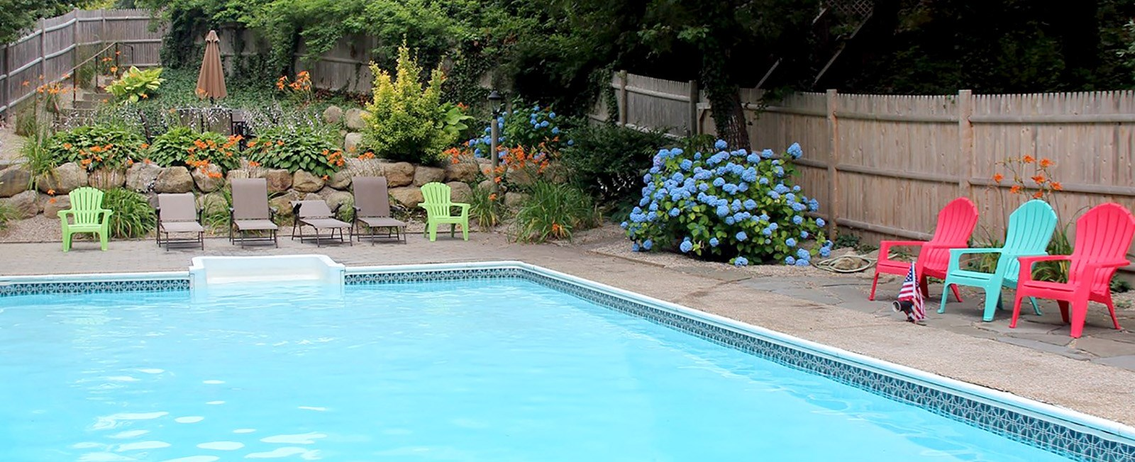 Vacationing on the Cape and Islands is pretty incredible. Staying in a home with its own private pool is simply amazing!