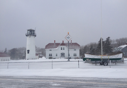 Chatham Lighthouse in the Winter
