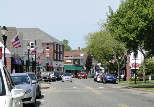 Downtown Falmouth, Cape Cod