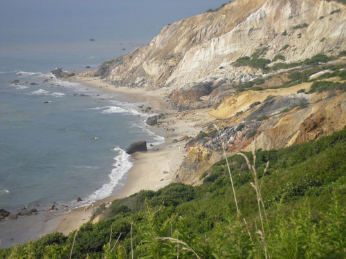 Gay Head Cliffs and Beach, Aquinnah