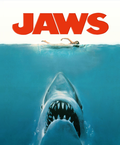 Jaws Movie Poster from Martha's Vineyard film