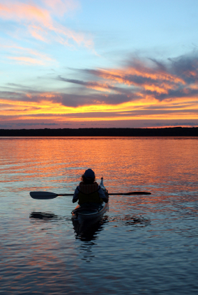 Kayaking throughout Cape Cod