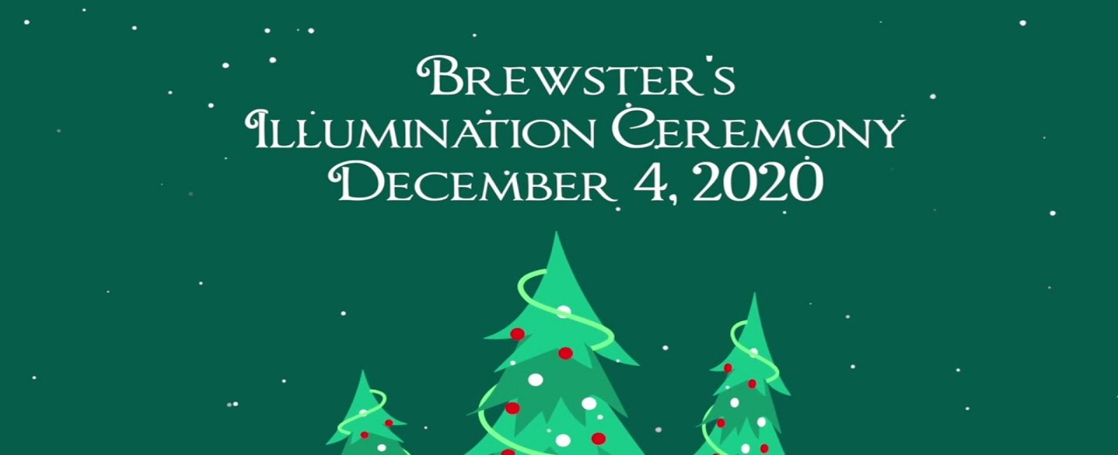 We have watched the Brewster town tree at Drummer Boy Park grow in size and in meaning. We celebrate the lights each holiday season, and share our story about the man who inspired the tree.