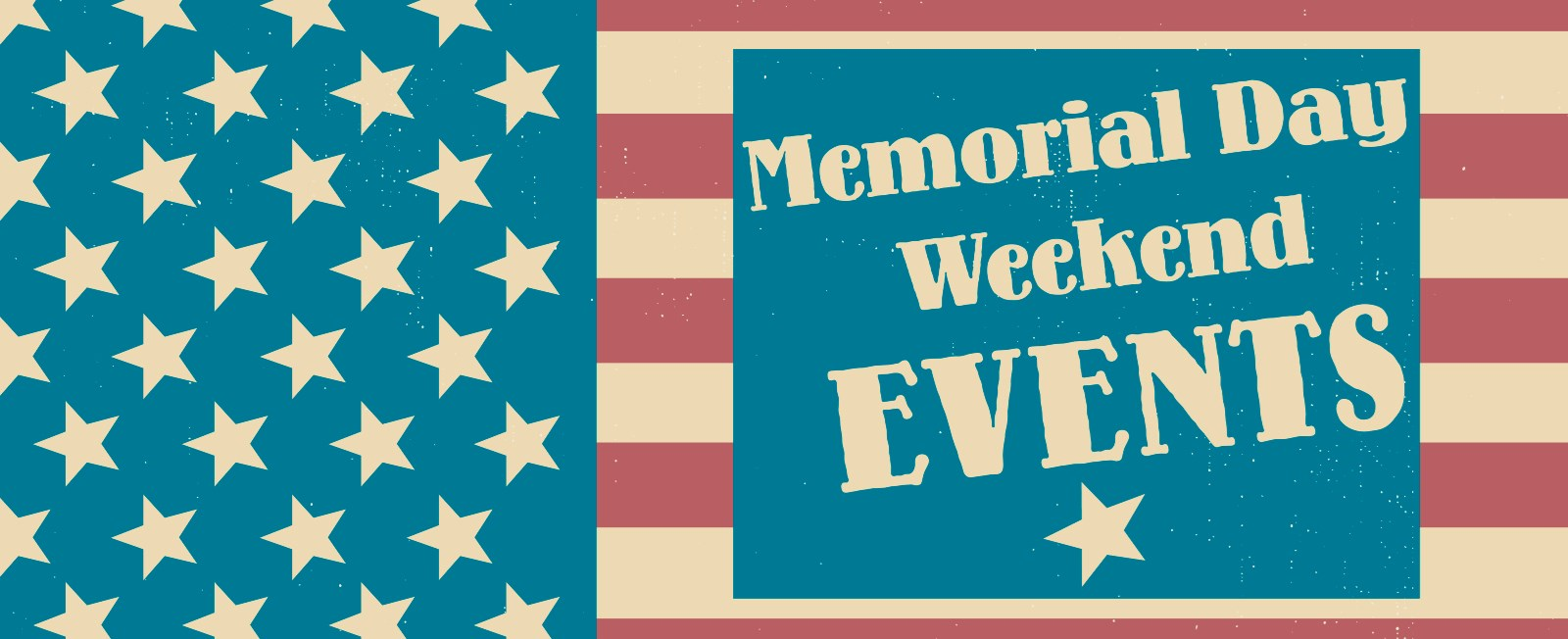 Spend the three day weekend on the Cape! There are many events happening, and the beaches are ready. We have also provided a few vacation rental homes with Memorial Day weekend availability.