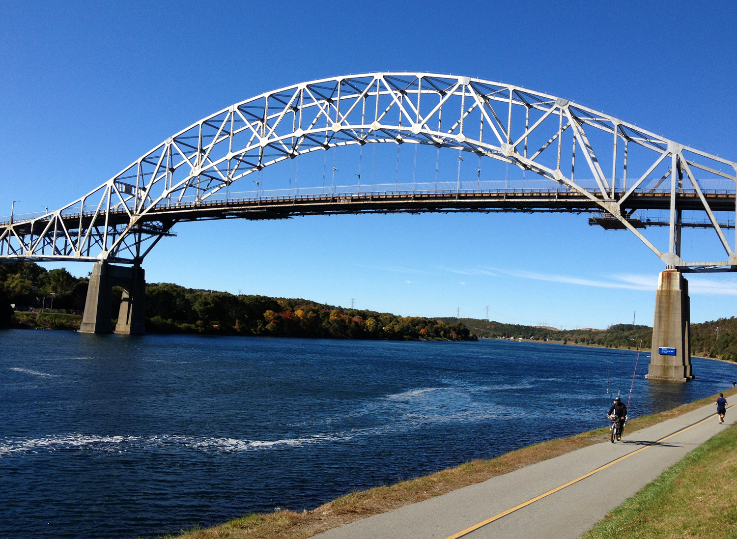 The Sagamore Bridge - Cape Cod Canal