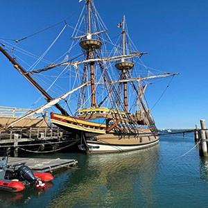The Pilgrims sailed to Plymouth on the Mayflower in 1620. We're sharing the story of the amazing voyage!