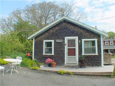 Oak Bluffs, East Chop Highlands Martha's Vineyard vacation rental - Outdoor shower and off street parking.