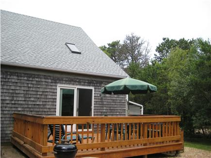 Katama - Edgartown Martha's Vineyard vacation rental - Back Deck