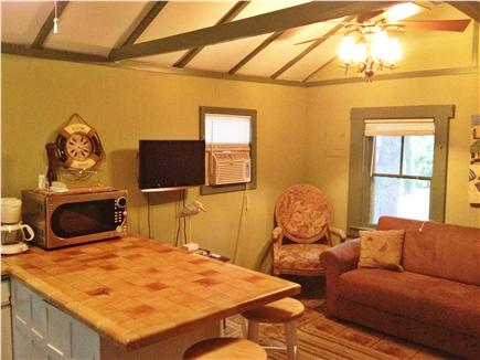 East Chop (Oak Bluffs) Martha's Vineyard vacation rental - Living area with service bar