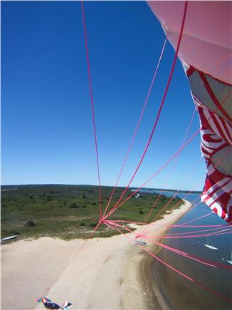Chilmark, ACROSS FROM QUANSOO FARM!  Martha's Vineyard vacation rental - Great aerial beach picture