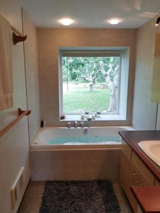 Chilmark, Quansoo Road across from Quans Martha's Vineyard vacation rental - Jacuzzi bath