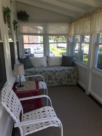 Oak Bluffs Martha's Vineyard vacation rental - Enclosed sun porch withwater view