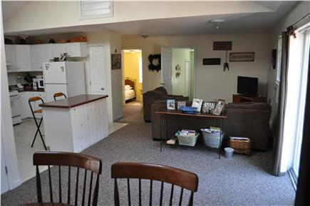 Oak Bluffs Martha's Vineyard vacation rental - Family room, kitchen and dining room