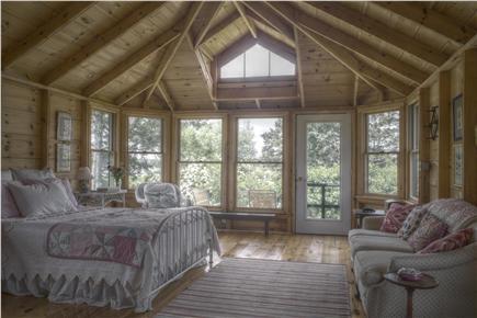 Chappaquiddick, Edgartown Martha's Vineyard vacation rental - Guesthouse with bath, outdoor shower & deck