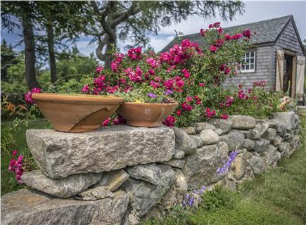 Chappaquiddick, Edgartown Martha's Vineyard vacation rental - One of the gardens