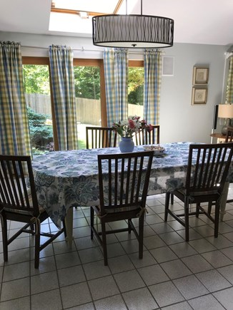 Edgartown Martha's Vineyard vacation rental - Dining room, overlooks the patio and garden