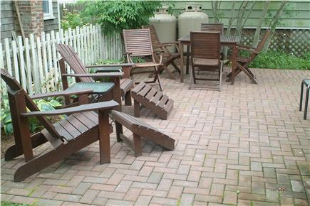 Oak Bluffs Martha's Vineyard vacation rental - Patio