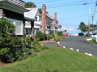 Oak Bluffs Martha's Vineyard vacation rental - Ocean Liner in Distance