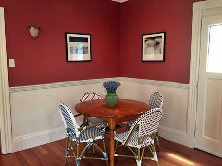 Oak Bluffs Martha's Vineyard vacation rental - 2nd table in dining room