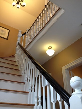Oak Bluffs Martha's Vineyard vacation rental - Let's head upstairs, staircase 1