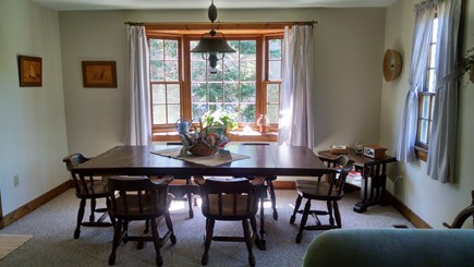 Edgartown Martha's Vineyard vacation rental - Spacious dining room for couples or family