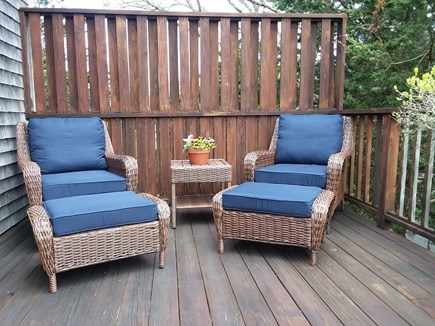 Edgartown Martha's Vineyard vacation rental - Bring a good book to read in these comfy chairs.